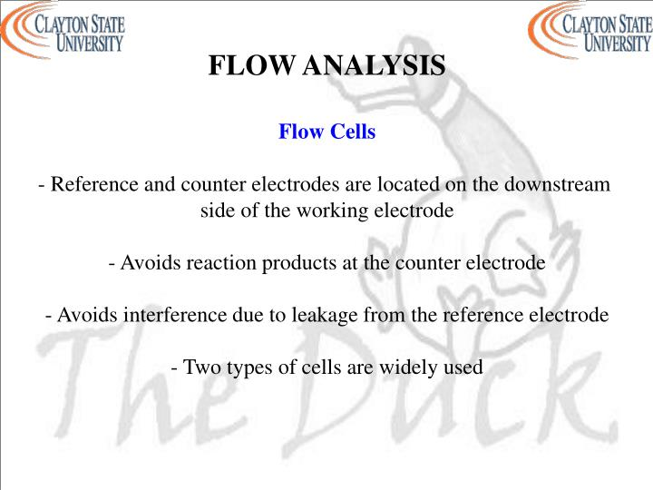 FLOW ANALYSIS
