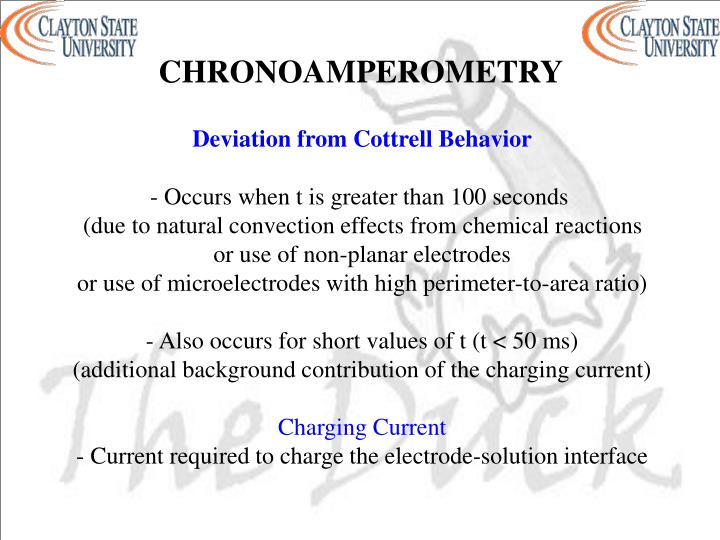 CHRONOAMPEROMETRY