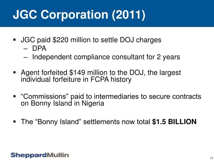 JGC Corporation (2011)
