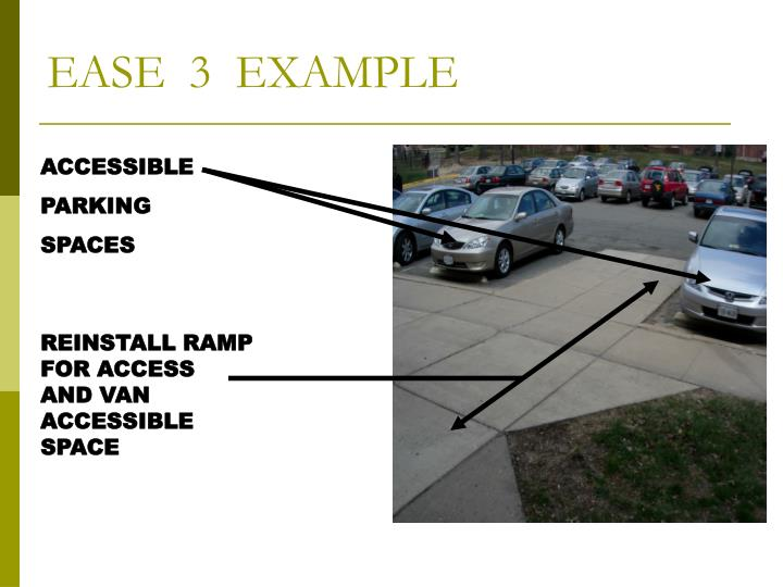 EASE  3  EXAMPLE