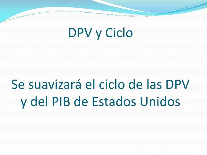 DPV y Ciclo