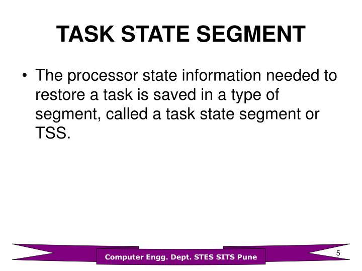 TASK STATE SEGMENT