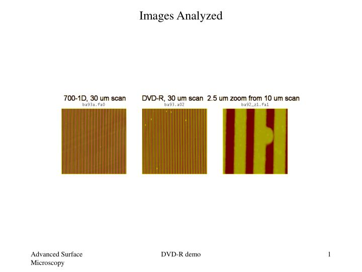 Images Analyzed