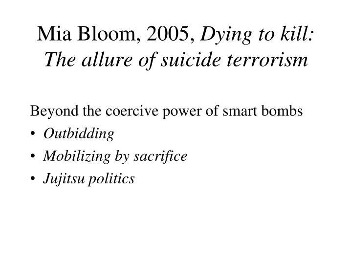 Mia Bloom, 2005,