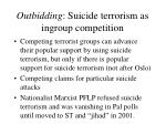 outbidding suicide terrorism as ingroup competition