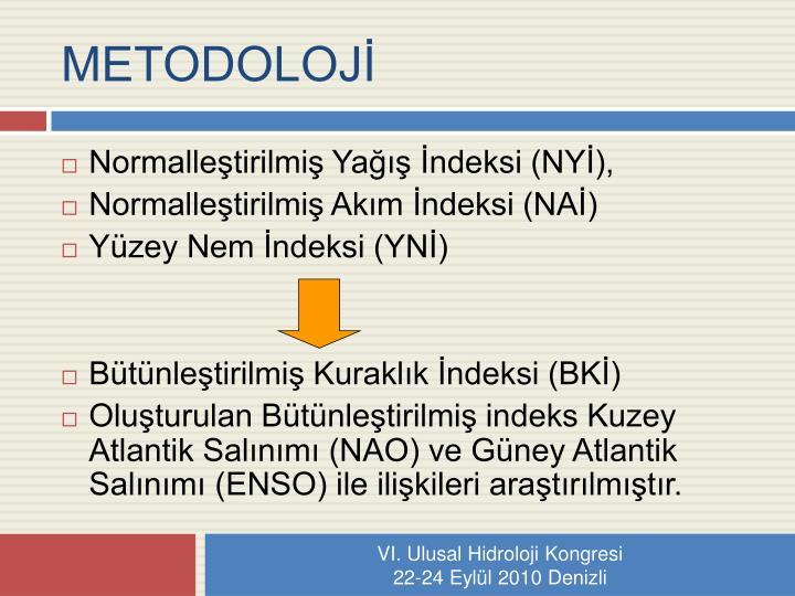 METODOLOJİ
