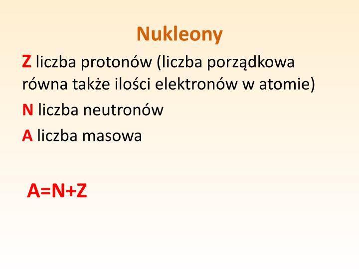 Nukleony