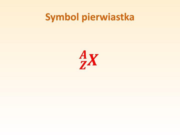 Symbol pierwiastka