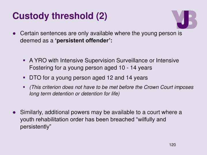 Custody threshold (2)