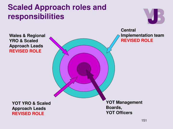 Scaled Approach roles and responsibilities