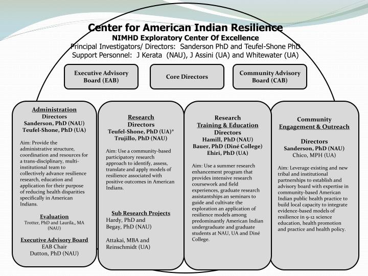Center for American Indian Resilience
