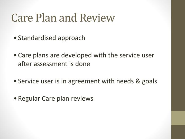 Care Plan and Review