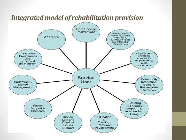 Integrated model of rehabilitation provision