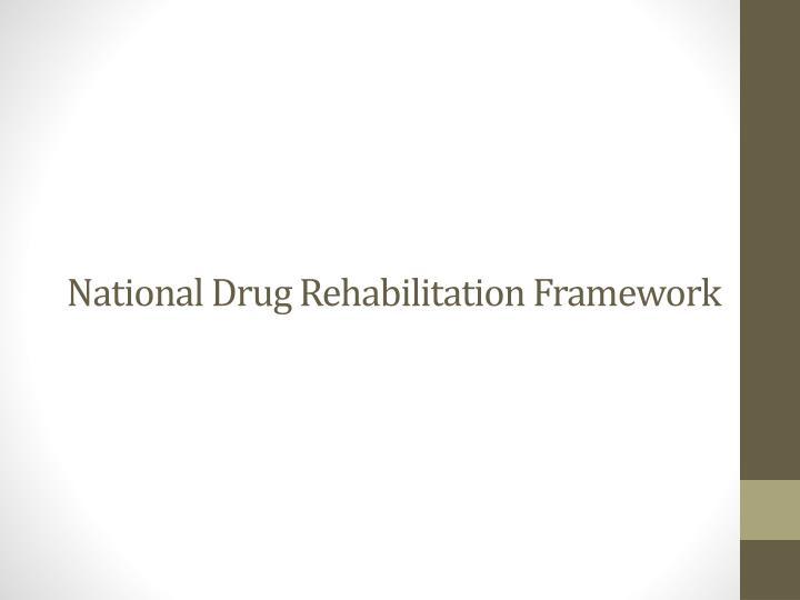 national drug rehabilitation framework