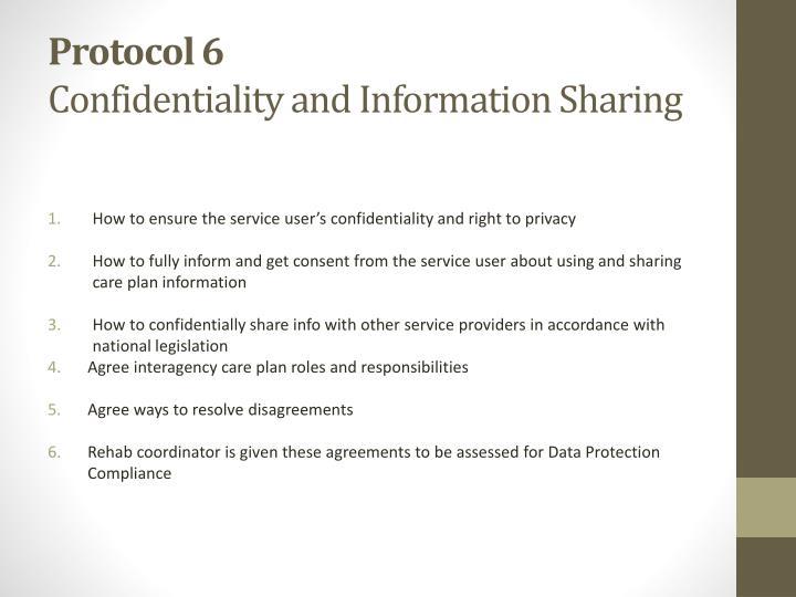 Protocol 6