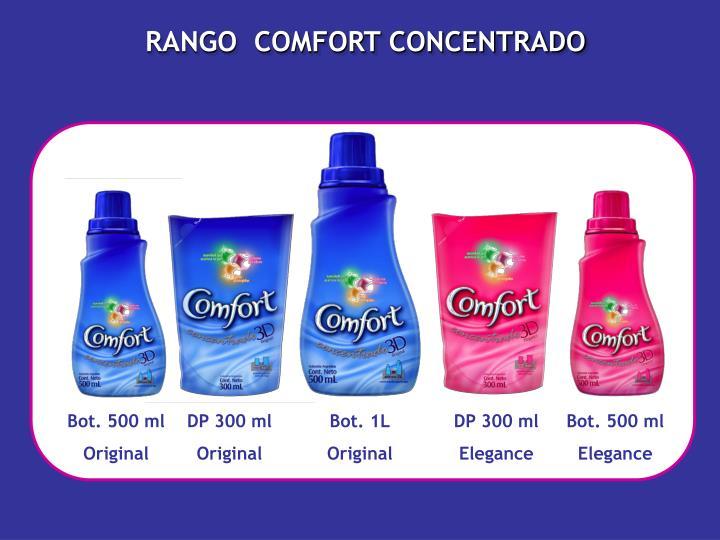 RANGO  COMFORT CONCENTRADO