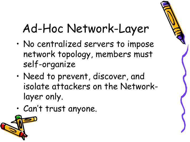 Ad-Hoc Network-Layer