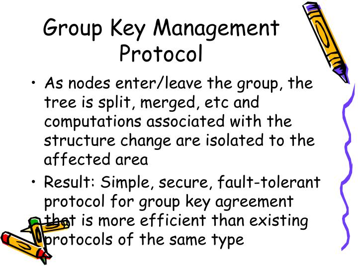 Group Key Management Protocol