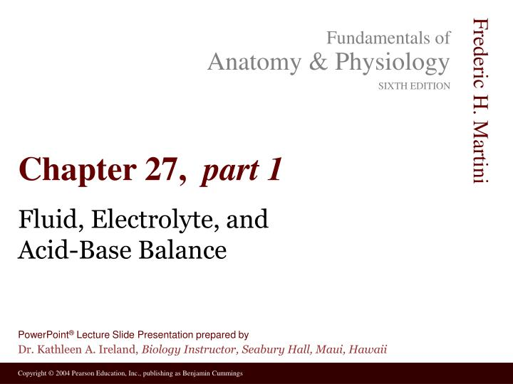 the importance of electrolyte balance essay