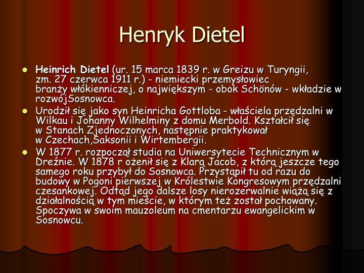 Henryk Dietel