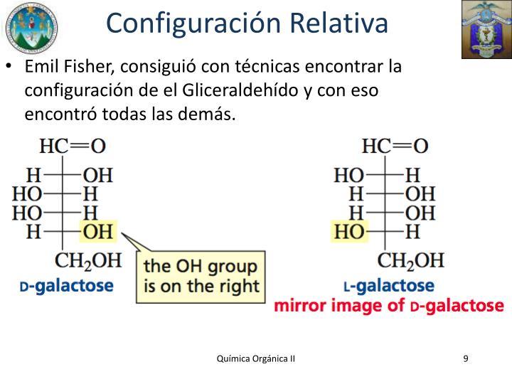 Configuración Relativa