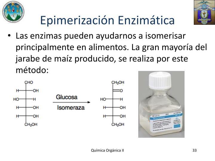 Epimerización Enzimática