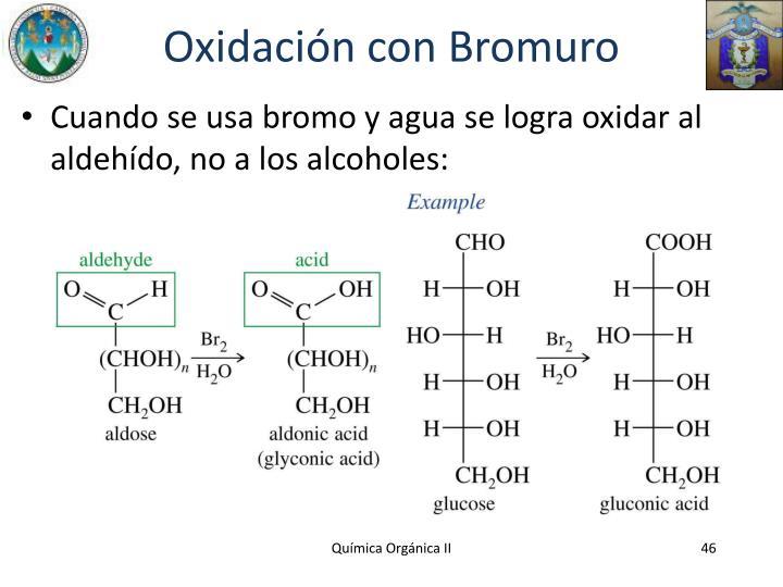Oxidación con Bromuro