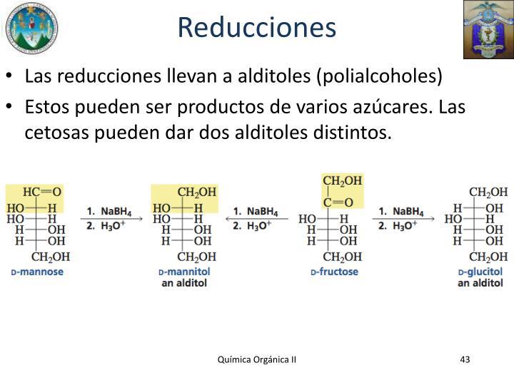 Reducciones