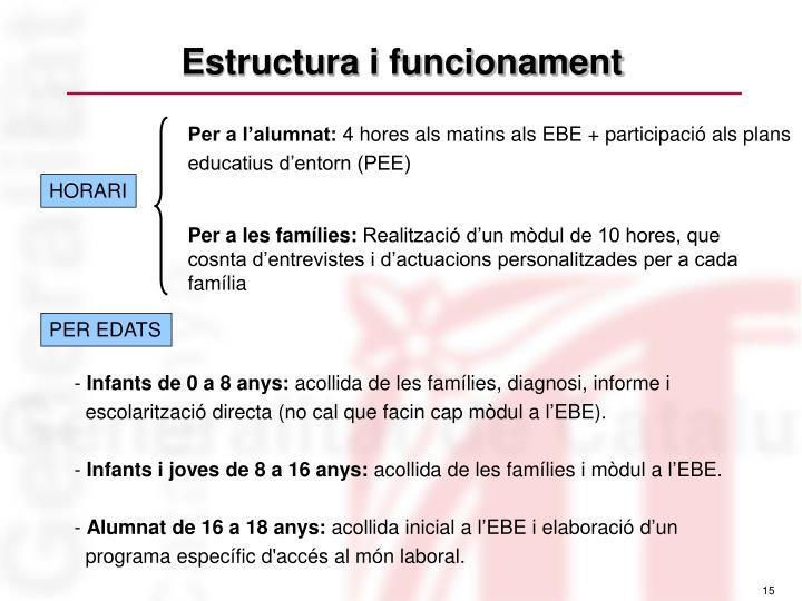 Estructura i funcionament