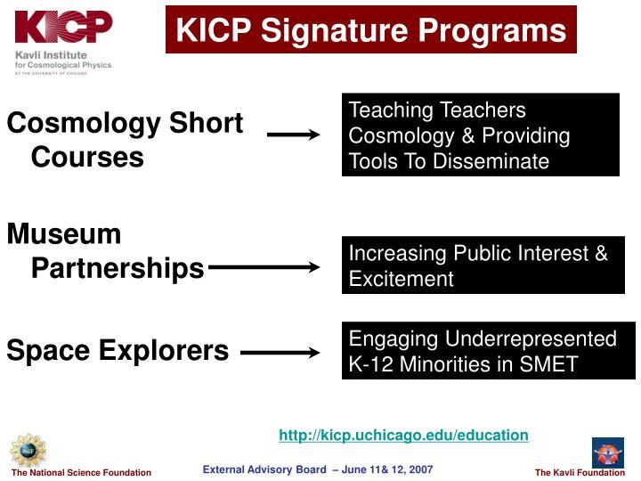 KICP Signature Programs