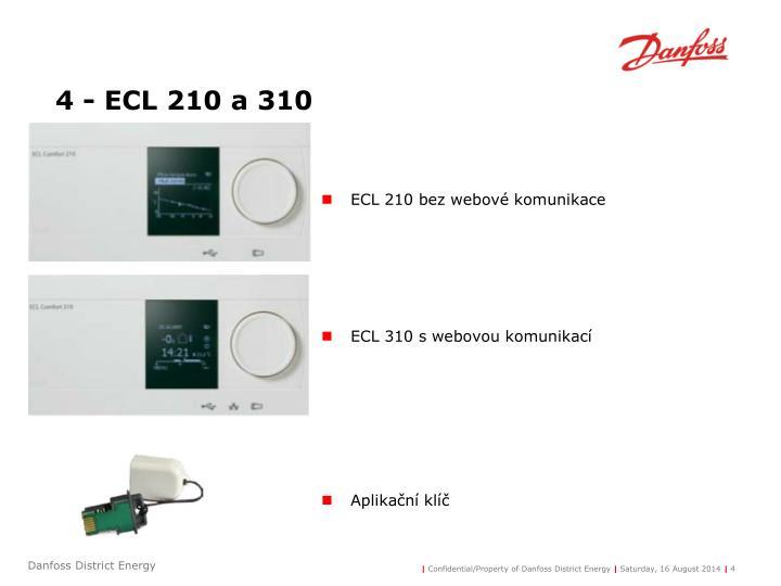4 - ECL 210 a 310