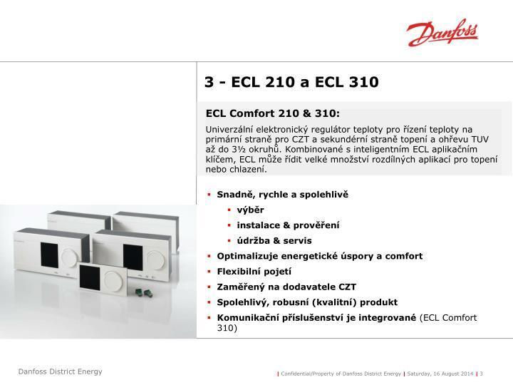 ECL Comfort 210 & 310: