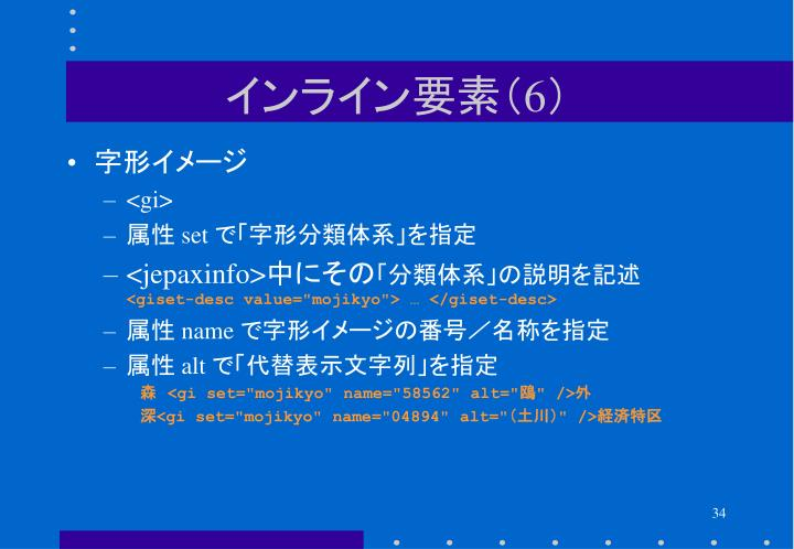 インライン要素(6)