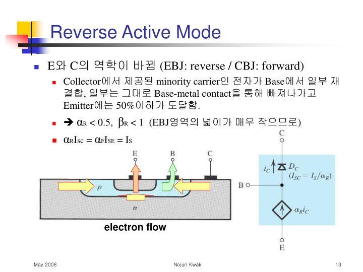 electron flow