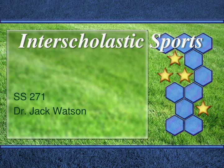 Interscholastic Sports