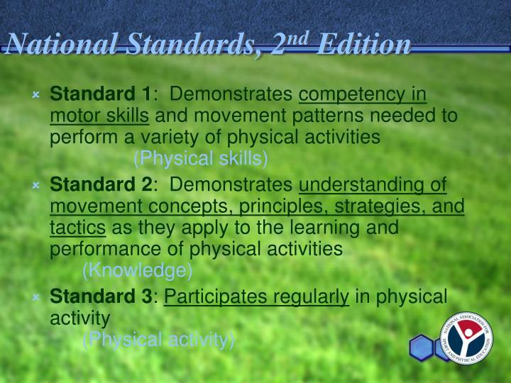 National Standards, 2