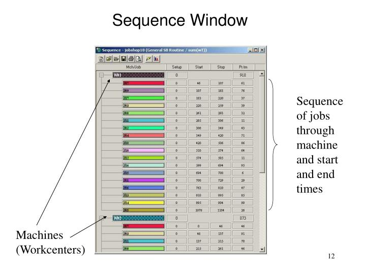 Sequence Window