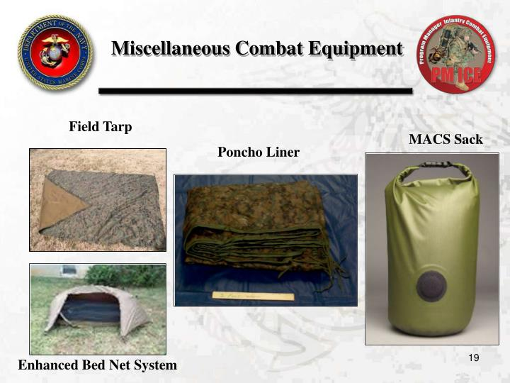 Miscellaneous Combat Equipment