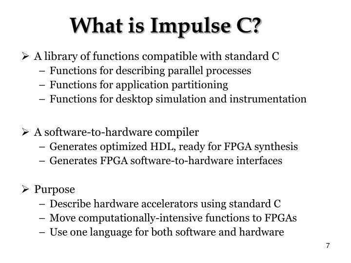 What is Impulse C?