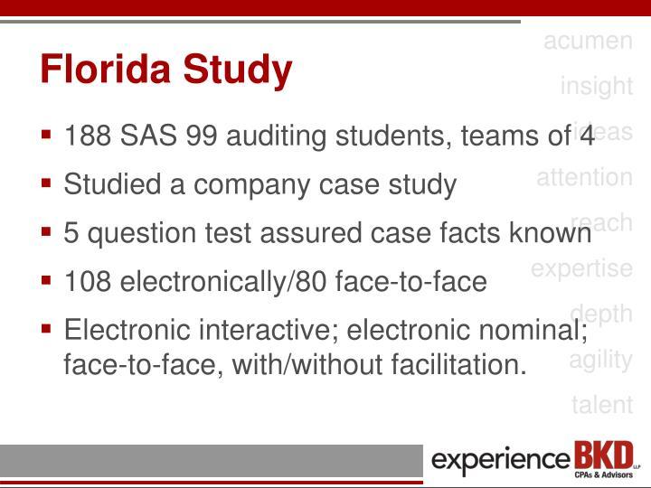 Florida Study