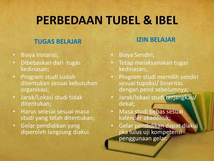 PERBEDAAN TUBEL & IBEL