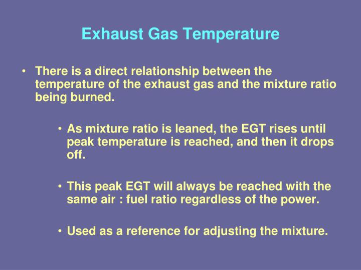 Exhaust Gas Temperature