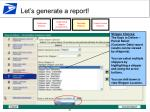 let s generate a report15