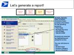 let s generate a report22