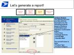 let s generate a report28