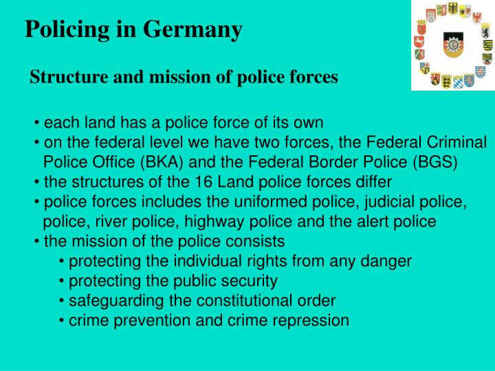 Policing in Germany