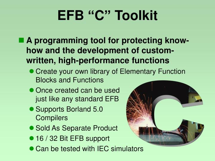 "EFB ""C"" Toolkit"