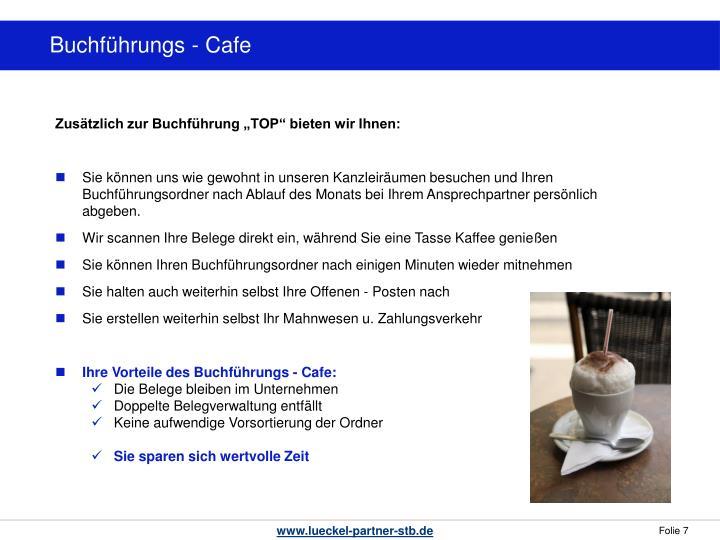 Buchführungs - Cafe