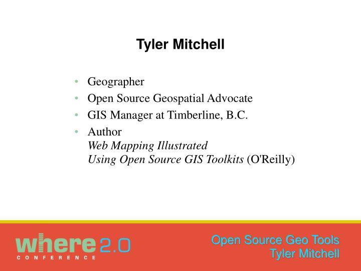 Tyler Mitchell