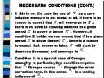 necessary conditions cont3